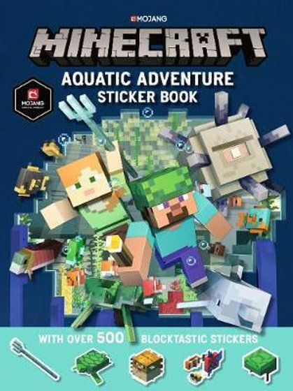 Minecraft Aquatic Adventure Sticker Book       by Minecraft