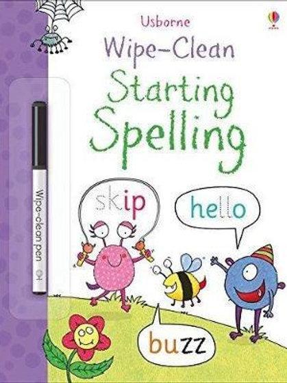 Wipe-Clean Starting Spelling Jane Bingham