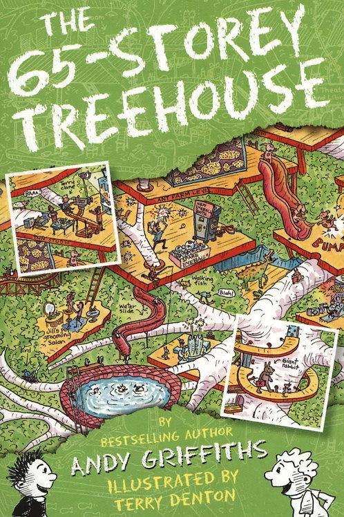 The 65-Storey Treehouse Andy Griffiths