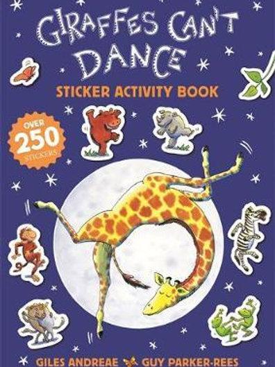 Giraffes Can't Dance 20th Anniversary Sticker Activity Book Giles Andreae