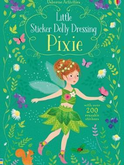 Little Sticker Dolly Dressing Pixies Fiona Watt