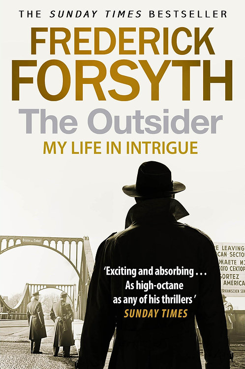 Outsider     by  Frederick Forsyth