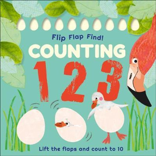 Flip, Flap, Find! Counting 1, 2, 3  DK