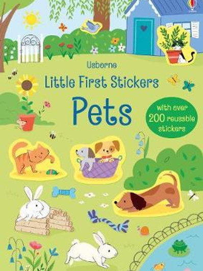 Little First Stickers Pets Hannah Watson