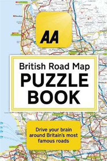 AA British Road Map Puzzle Book       by Helen Brocklehurst