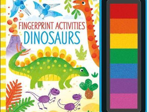 Fingerprint Activities Dinosaurs Fiona Watt