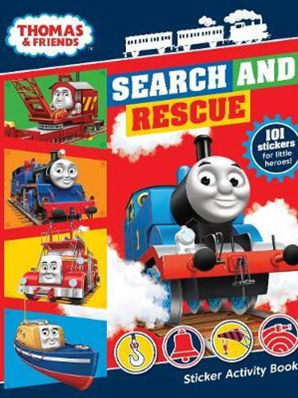 Thomas & Friends: Search and Rescue Sticker Activity Book Publishing UK Egmont