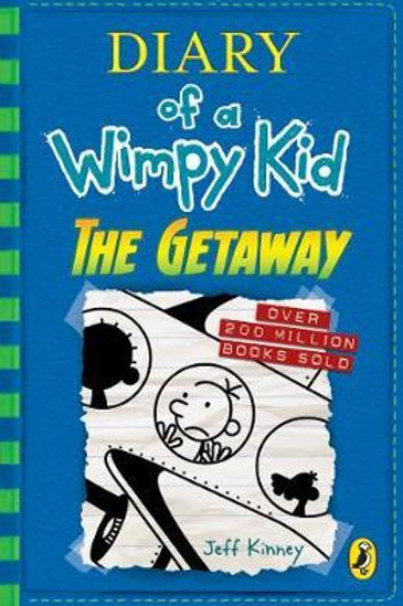 Diary of a Wimpy Kid: The Getaway (book 12) Jeff Kinney