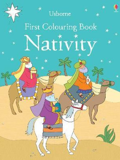 First Colouring Book Nativity Felicity Brooks