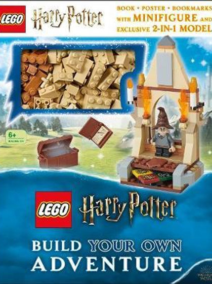 LEGO Harry Potter Build Your Own Adventure: With LEGO Harry Potter Minifigure an