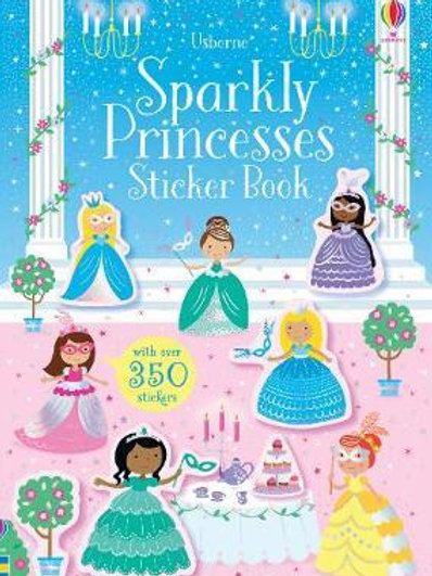Sparkly Princesses Sticker Book Kirsteen Robson