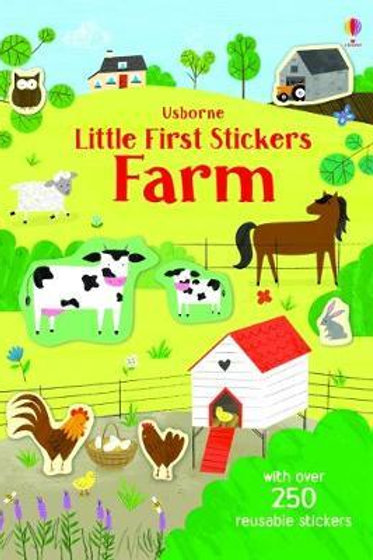 Little First Stickers Farm Jessica Greenwell