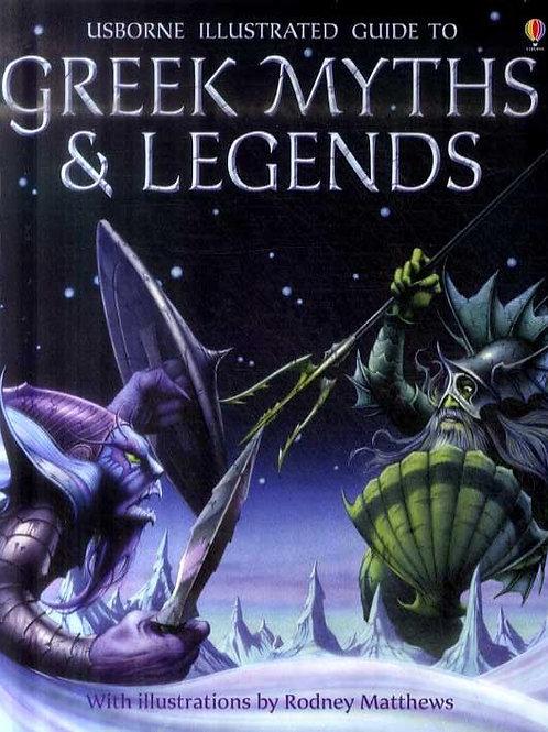 Greek Myths and Legends Anna Claybourne