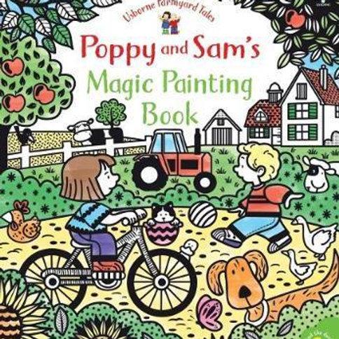 Poppy and Sam's Magic Painting Book Sam Taplin
