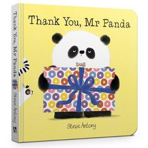 Thank You, Mr Panda Board Book Steve Antony