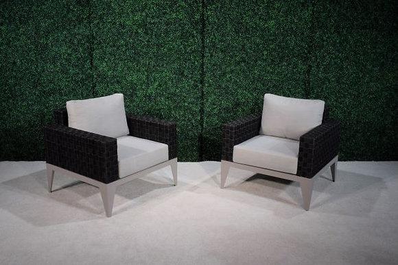 Feruci Marbella Black Armchair