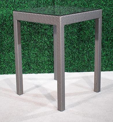 Feruci Grey Bar Table 32x32