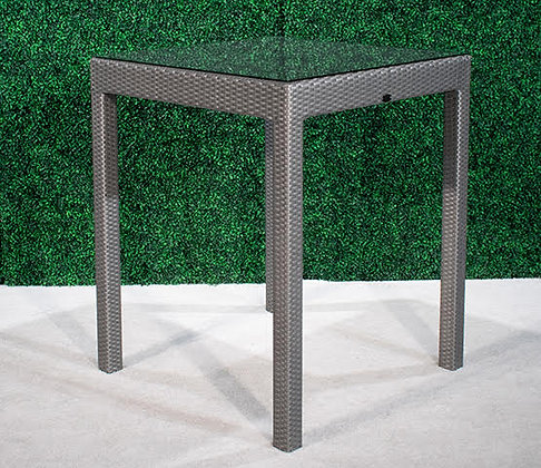 Feruci Grey Bar Table 35x35