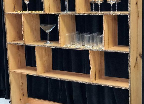 Wood Bar Back