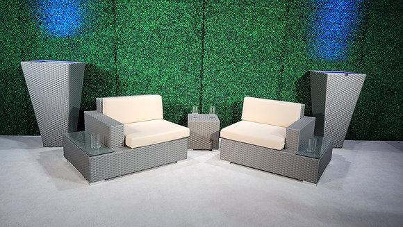 Feruci Fidji Left/Right Side Seat w/ built-in side table