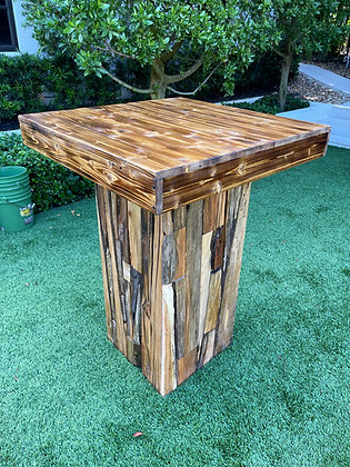 Rustic Highboy Tables