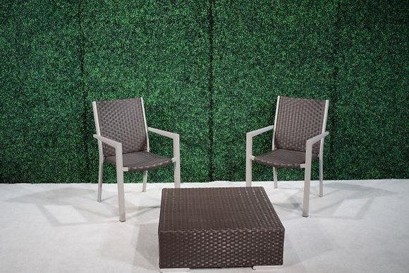Feruci brown chairs