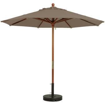 Feruci 10' Umbrella w/ flat base