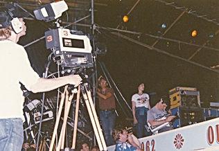 Hitachi FP22's shoot Philadelphia Folk Festival 1980's