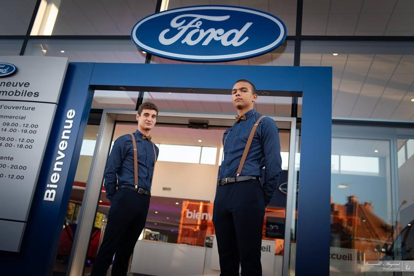 Lancement FOCUS, modèle Ford