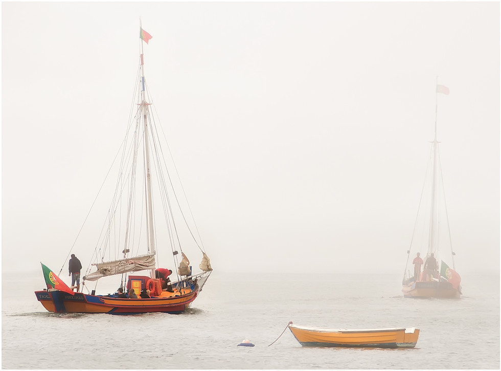 COLOUR - Sea Mist Approaches by Stephen McWilliams ( 13.5 marks) - Starred