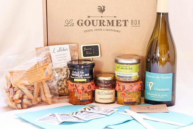 La box gourmande du terroir français à domicile.
