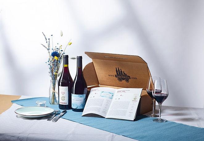 La Box ÉCHANSON pensée pour les amoureux de grands vins rouges