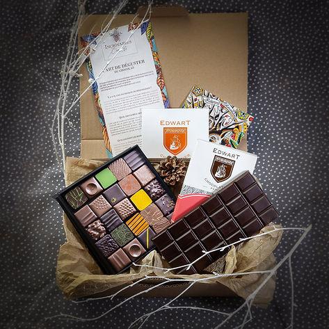 La Box des Artisans Chocolatiers de Janvier