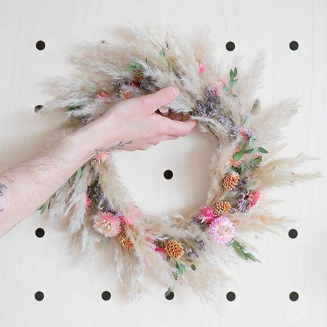 Des fleurs séchées