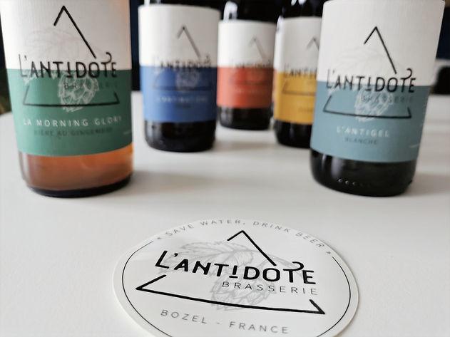 La Box Bières Artisanales : L'Antidote