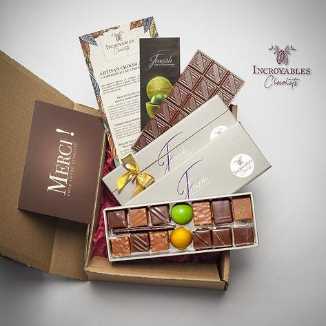 La Box des Artisans Chocolatiers d'Avril