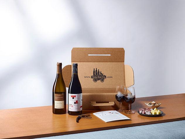 La Box TASTEVIN pour les curieux du vin qui souhaitent s'initier au bon goût du vin
