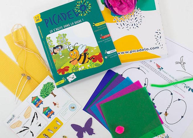 BOX ABEILLE - activit's pour  enfant the