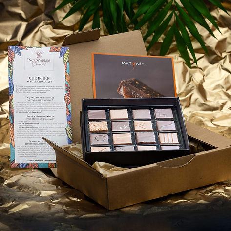 La Box des Artisans Chocolatiers de Février