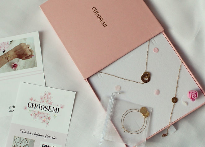 ChoosEmi paiement unique box bijoux personnalisables