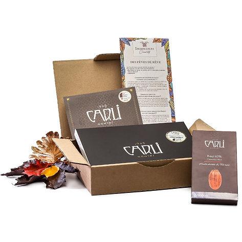 La Box des Artisans Chocolatiers de Décembre