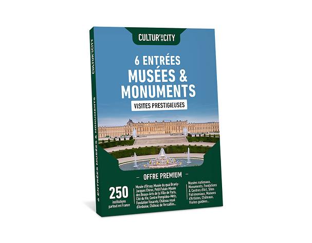 Les Coffrets Musées et Monuments