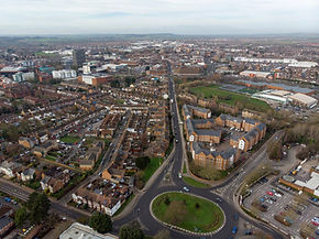 over view of aylesbury