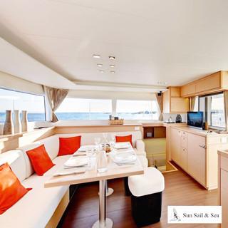 Bahamas Kite Catamaran Cruise Interior L