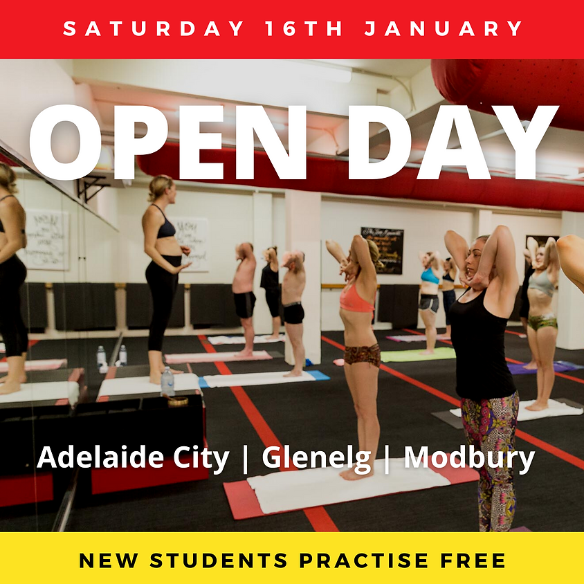 Open Day - Adelaide