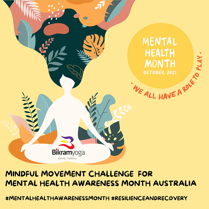 Mindfulness Movement Challenge for Mental Health Awareness Month