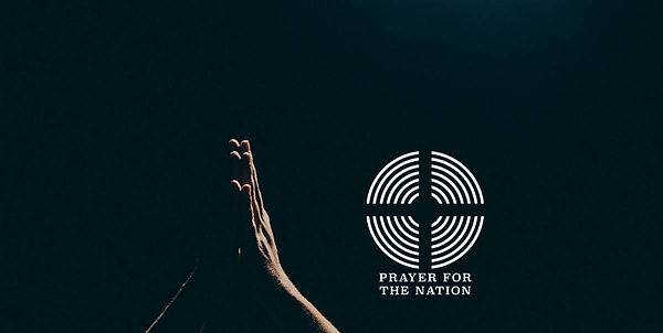 Hero image - Prayer for the nation hands