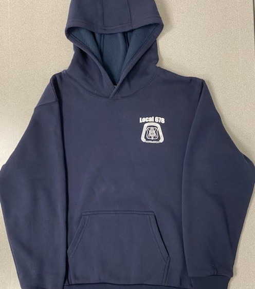 Navy Eagle Hooded Sweatshirt Front.jpg