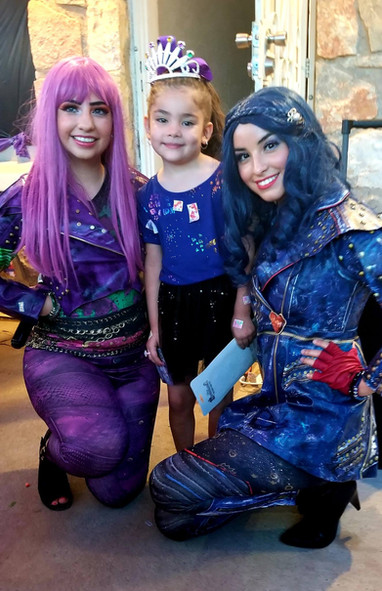 Dragon Queen's Daughter & Evil Queen's Daughter