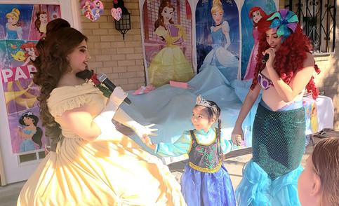 Beauty Princess & Mermaid Princess